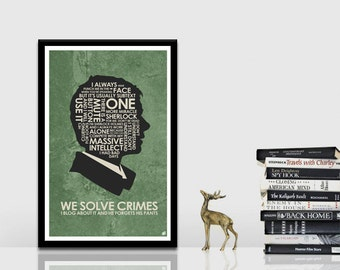 Sherlock - Watson Quote Poster