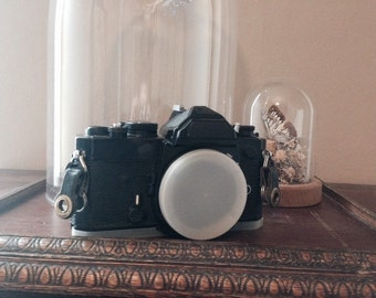 Vintage Nikon FM - black body