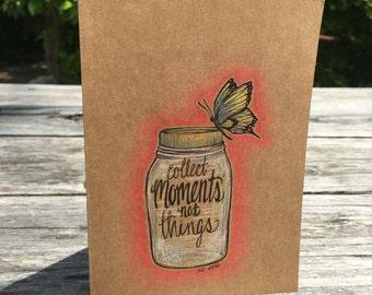 Moments - Hand Drawn Greeting Card