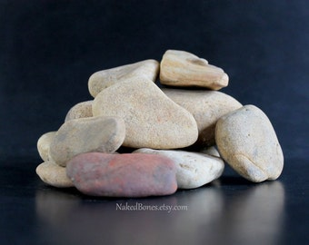 River Rocks - Smooth Stones - Container Scaping - Table Top Fountain Building - Paintable