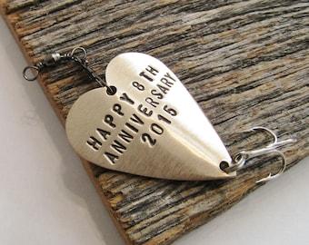 8th Anniversary Gift for Men Bronze Anniversary Gift for Him Traditional 8th Wedding Anniversary Gift for Husband Wedding Gift Personalized