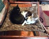 "Fold A Frame 24""x24"" Hanging Cat Hammock"