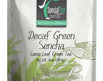 16 oz. Decaf Green Sencha with Free Tea Infuser