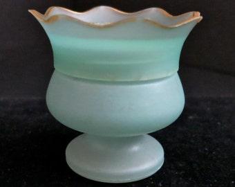 Vintage Coty Muguet des bois Creme De Parfum, Vintage Cosmetic Jar Coty, NY, Coty Fragrance Jar, Vintage Fragrance Jar, Vanity Jar, Sachet