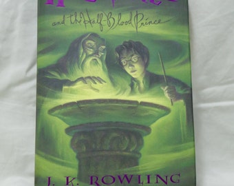 Hidden Book Compartment-Harry Potter and the Half Blood Prince