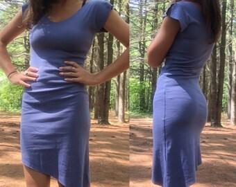 Blue Organic Cotton Dress