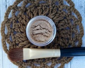 Eyeshadow - Tan Eye Shadow - Organic Makeup - Organic Beauty - Organic Cosmetics - Honey Eye Shadow - Mineral Makeup - Organic Eye Shadow