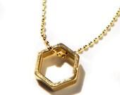 Multitude Hexagon Necklace