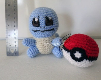 POKEMON STARTERS - Squirtle Crochet Plushie Doll