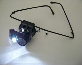 Magnifier Glasses with LED light 4268