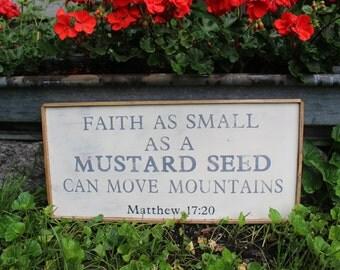 Mustard Seed Biblical verse