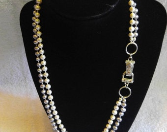 hand strung pearl necklace