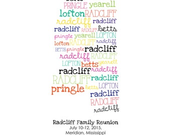 Family Reunion Logo Etsy