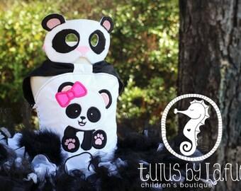 OTT Girl Panda Tutu/Costume/Outfit/Pageantwear/Birthday