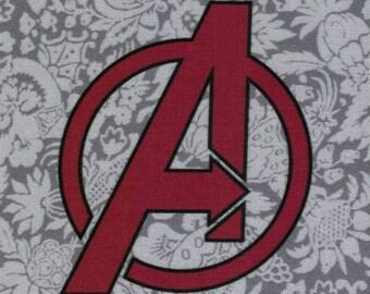 Avengers Logo: Marvel Comics fabric print