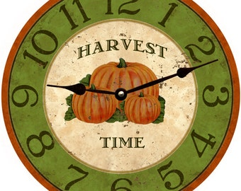 Harvest Time Clock