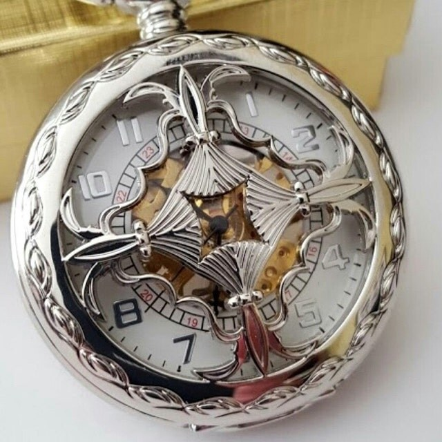 engraved pocket watches groomsmen gifts by