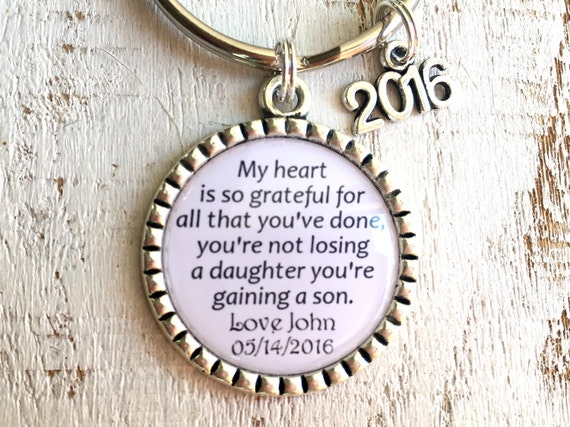 Gift from Groom Bride Father Wedding Gift Ideas Parents Wedding Gifts ...