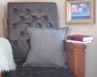 Decorator Throw Pillow Cover Gray