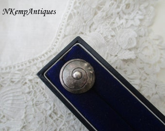 Antique silver button 1910 for the collector Arts and craft