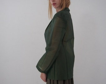 SALE - JUNYA WATANABE - Transparent Blazer