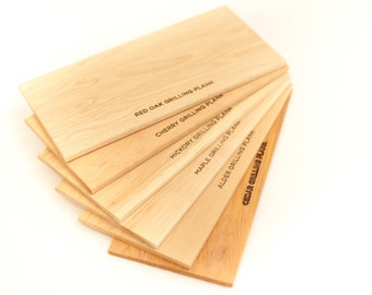 Father's Day Gift for Grill Master - Grilling Planks Sampler: 6-Pack - For Dad, Gifts under 25, Free Shipping, Father's Day, Men's Gift, BBQ