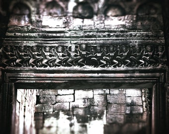 Angkor Wat, Cambodia | Khmer Temple Carvings | Travel Photography | Digital Download