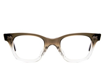 Fendall T-30 Vintage Brown Ombre 1950's Eyeglasses