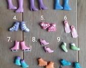 petite blythe/mini dal sport shoes and boots 2 pair set