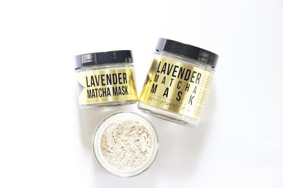 Lavender Matcha Mask Vegan Face Mask