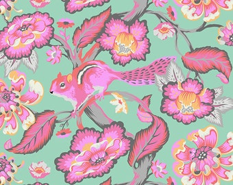 CHIPPER 1/2 yard by Tula Pink for Westminster fabrics Chipmunk Sorbet