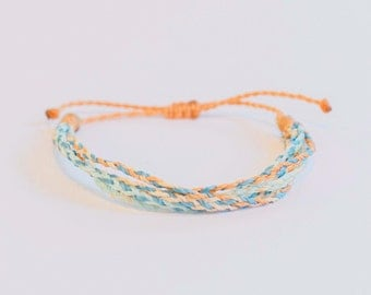 "Boho Beach Bracelet,  Ethical, Fair Trade, ""Bracelets 2 Educate"""