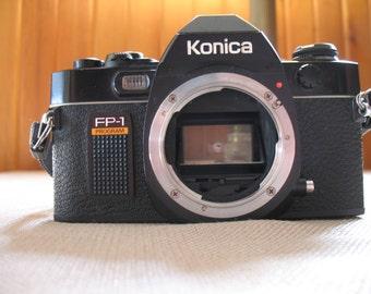 Vintage KONICA FP-1 Program SLR Film Camera