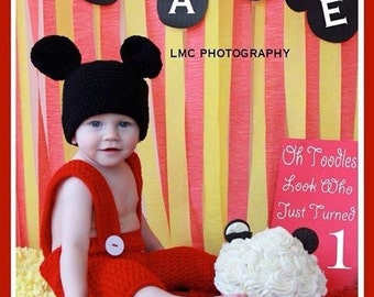Mickey Mouse Phot Prop