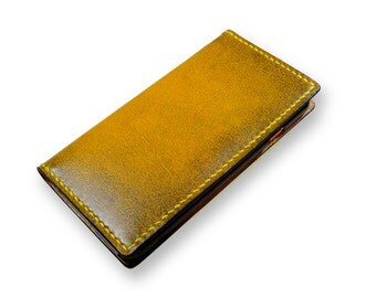 Leather iPhone 7 case wallet, Leather iPhone all models ,  Handmade iPhone case wallet