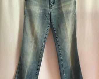 Vintage Wrangler distressed high waist jeans 27x29