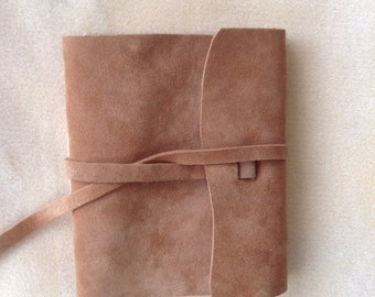 Sweet soft leather journal perfect for the writer or artist.