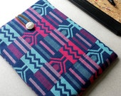 Tablet Case, Christmas Gift, Tablet Sleeve, Kente Tablet Case, Tech Accessories, iPad Case, Samsung Galaxy Case, Macbook Cover.