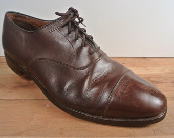 Alden Brown Cap Toe Balmoral Men's Size: 10.5D