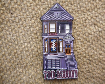 "One ""710 Ashbury"" Pin FREE SHIPPING"