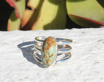 Authentic Turquoise Sterling Silver Ring