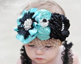 Headband/Baby Headband/Baby Headbands and Bows/Infant Headband/Baby Girl Headband/Girl Headband Baby/Baby Romper