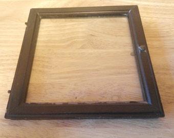 Glass Mantel Clock Etsy