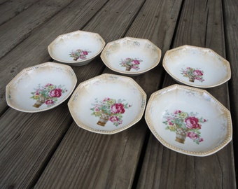 Made in Germany Vintage Berry Bowls  (set of 6)