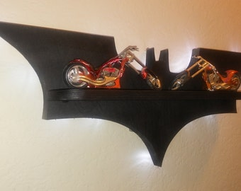 Wooden shelf Batman LED NIGHT LIGHT