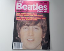 Vintage Beatles Magazine various articles & pictures from the 1960's April 1990 edition