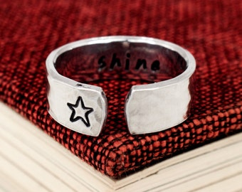 Shine Ring - Secret Message Ring