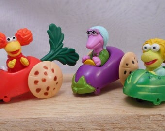 1988 McDonald's Happy Meal Fraggle Rock Toys