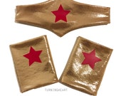 Wonder Woman headband & cuff set inspired adult, baby, toddler, child, super hero, girl power, comic con, nerdy costume party gifts, cosplay