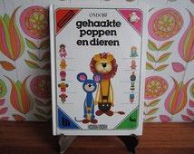 Vintage Dutch Crochet Pattern Book Amigurumi Japan Gehaakte Poppen Dieren Ondori Dolls Animals Basic Techniques Crafts DIY Gifts 1981 1980's